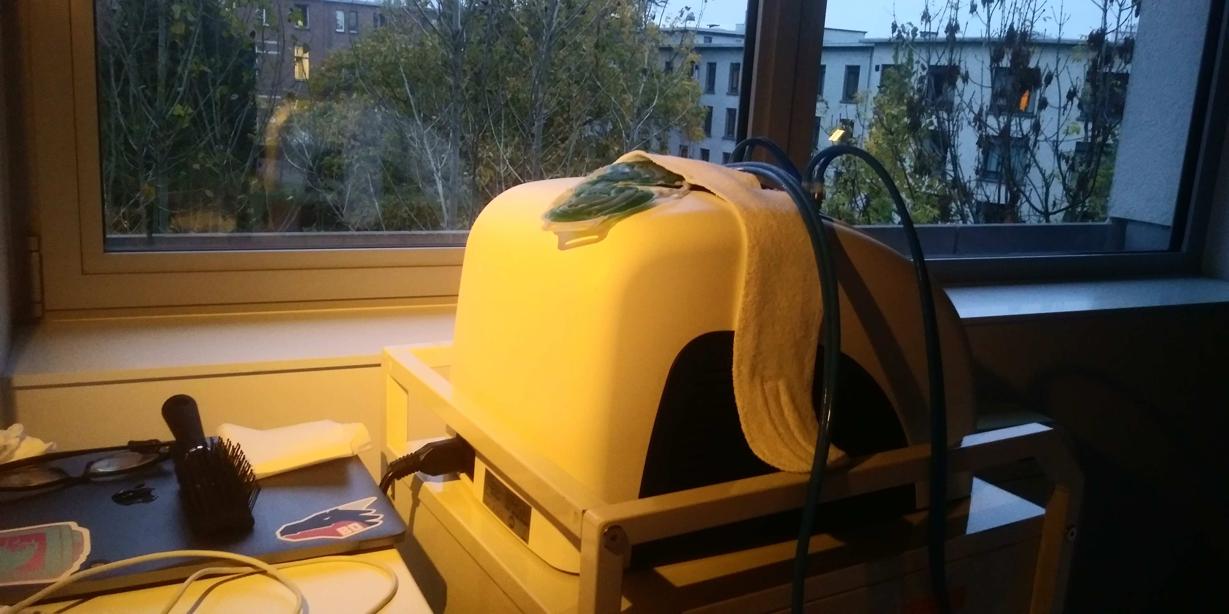 cooling mask machine