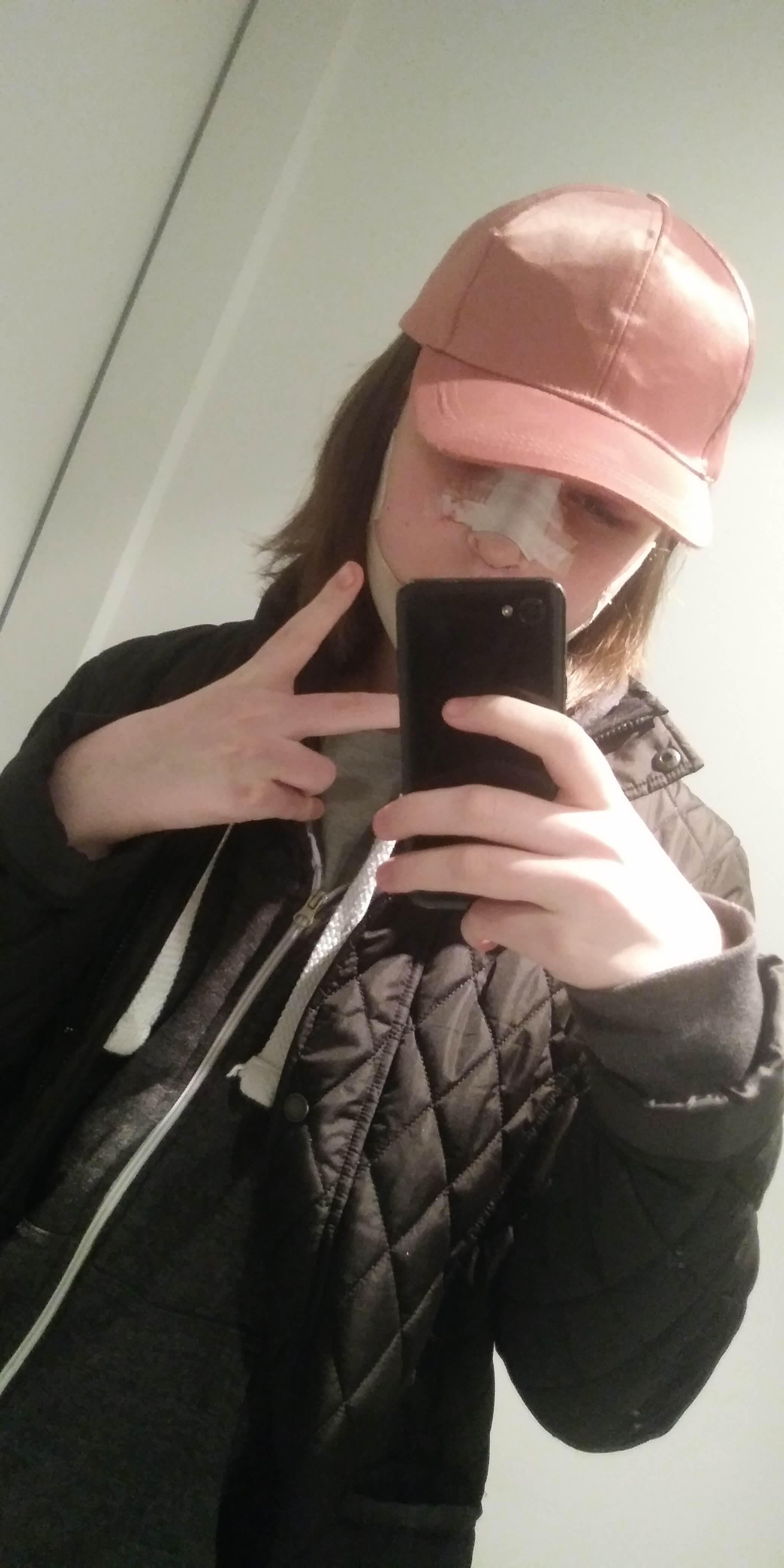 pink hatter